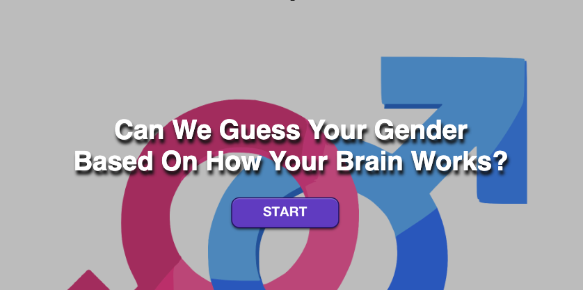 Tipicamente Maturare disposto  Can We Guess Your Gender Based On How Your Brain Works? | Surveee