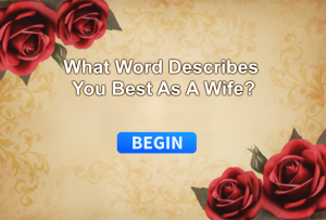What Word Describes You Best As A Wife?
